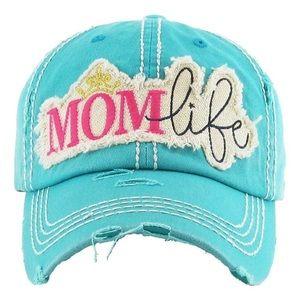 Mom Life Vintage style hat